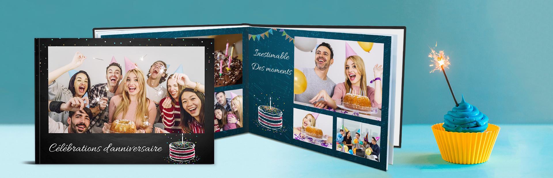 cadeau unique anniversaire Custom Photo Books