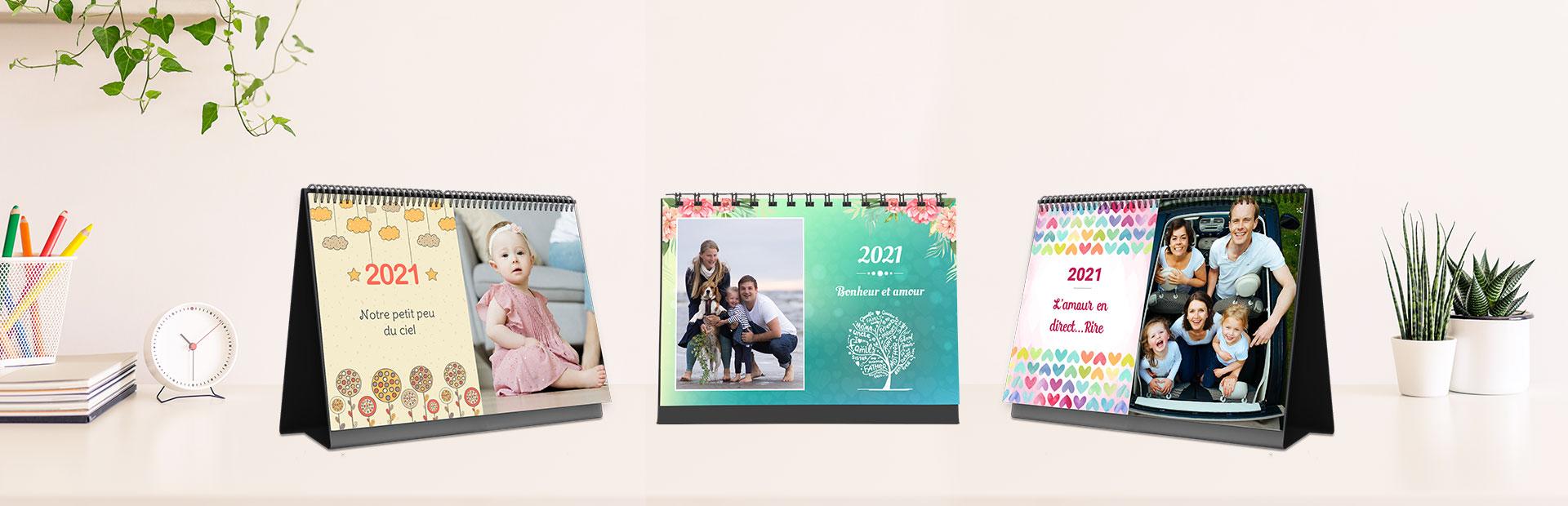 Impression de calendriers photo personnalisés en ligne - Picsy