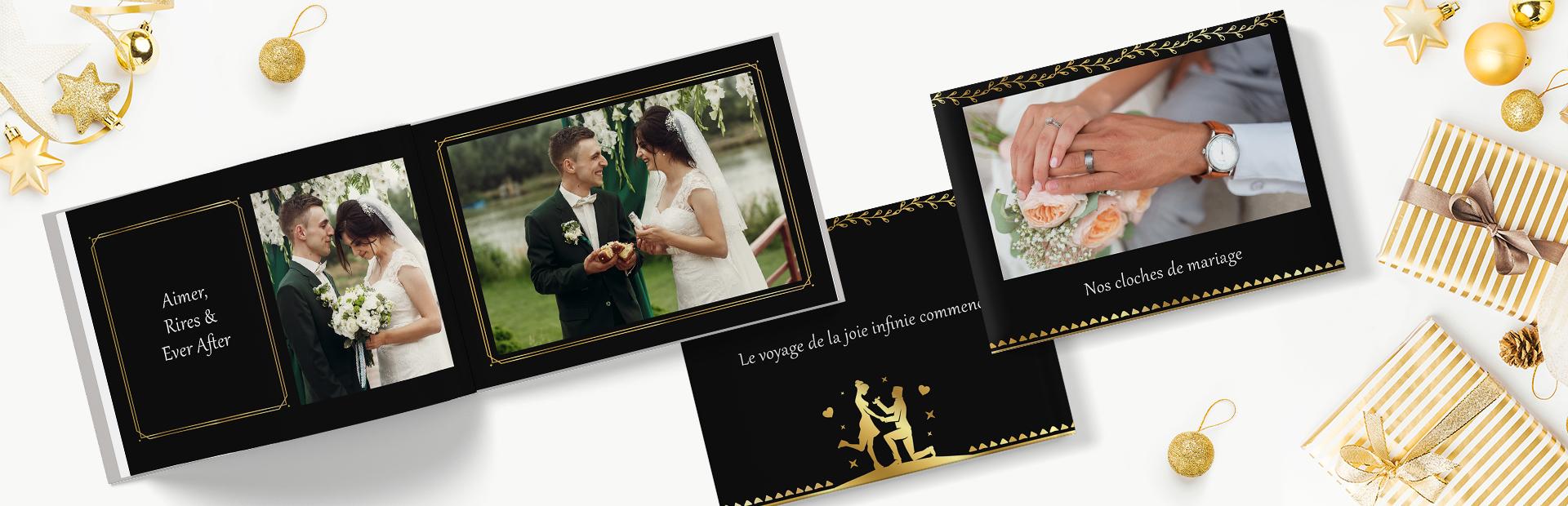 Gilded Wedding Photo Books Online