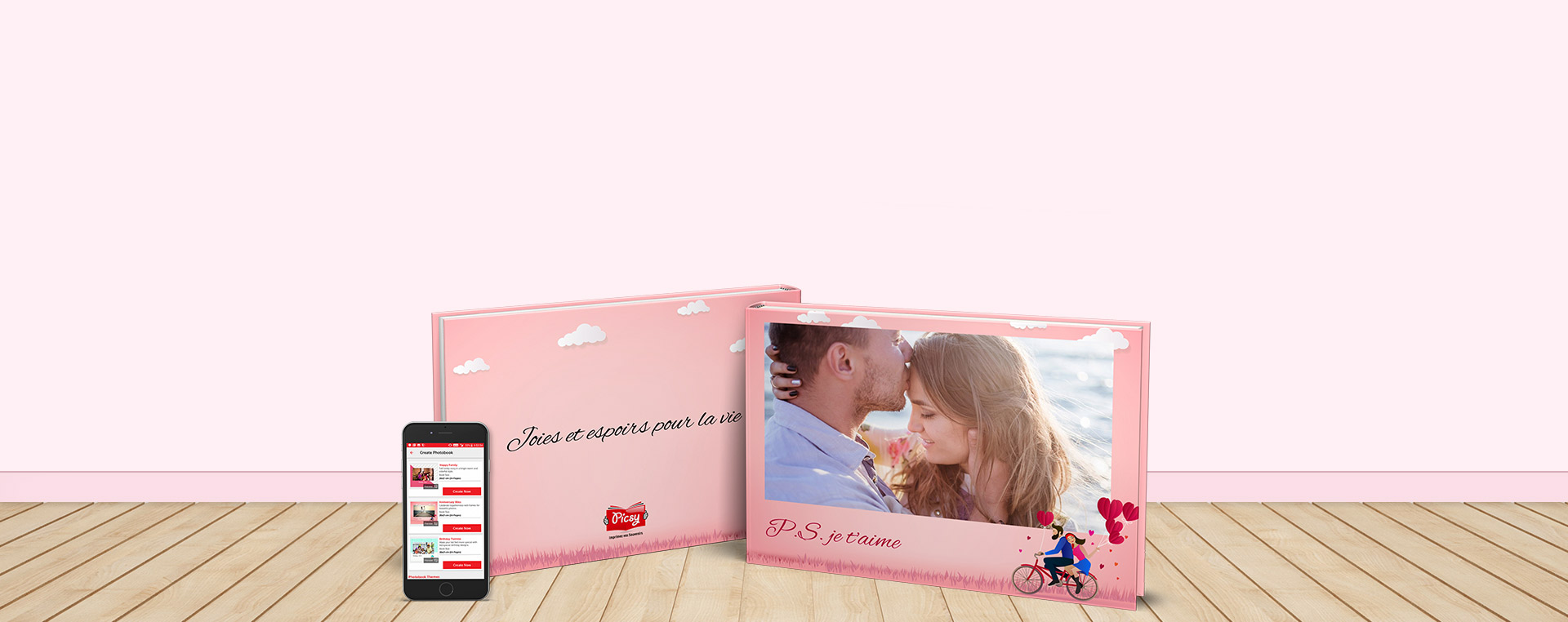 Picsy Personalized Photo Gifts - Photo Books & Photo Albums