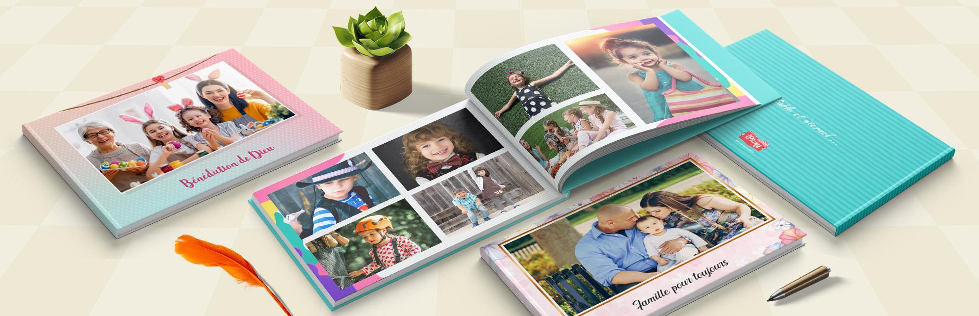 Thèmes de livres photo de famille