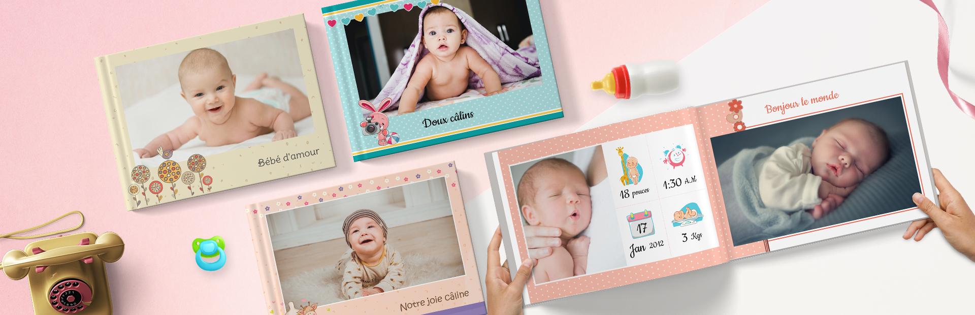 Thèmes de livres photo pour enfants