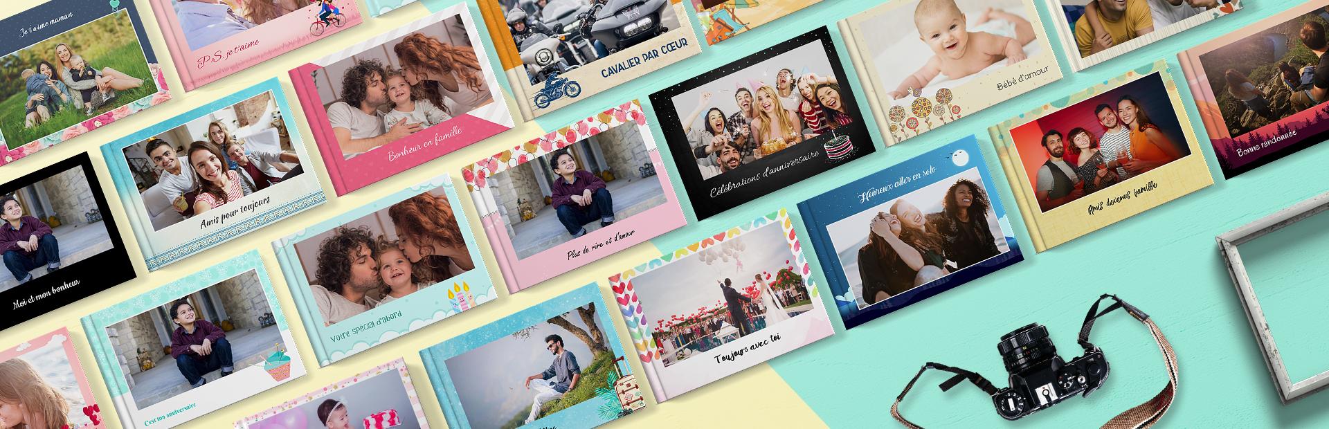 Impression de livres photo personnalisés en ligne - Picsy