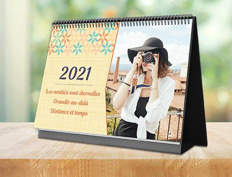 Impression de calendrier photo d'amis - Picsy