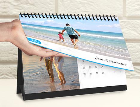 Impression de calendrier photo classique - Picsy