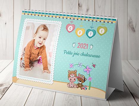 Impression de calendrier photo pour enfants - Picsy