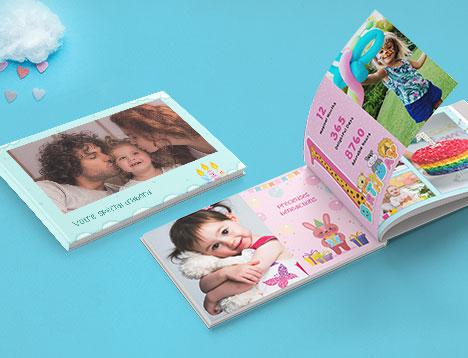 Impression de livres photo pour enfants - Picsy