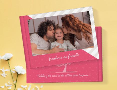 Impression de livres photo de famille - Picsy