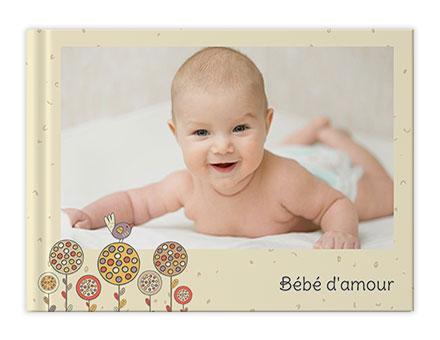 Livres photo personnalisés Bébé nourrisson