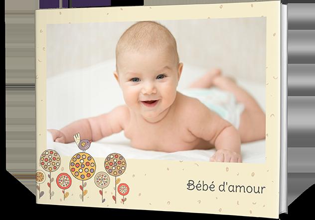 Livres photo personnalisés Bébé nourrisson en ligne