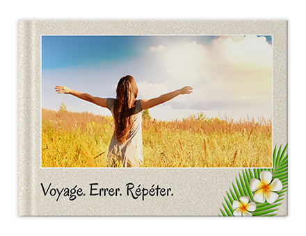 Vacance et nature Livres photo personnalisés