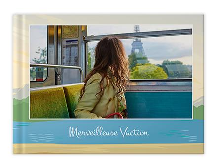 Impression de livres photo Voyage à Paris