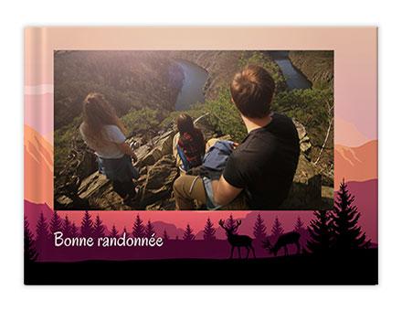 Vacance en montagne Livres photo personnalisés