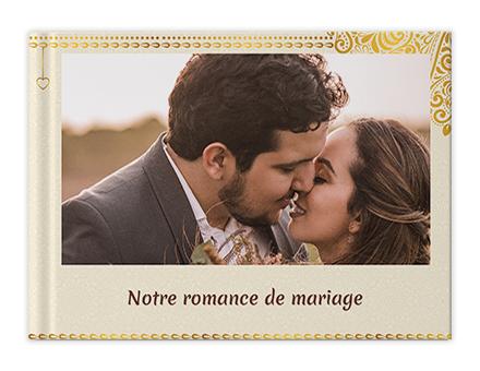 Clochettes de mariage Livres photo personnalisés