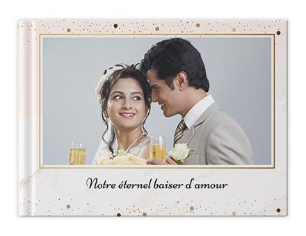 Vœux de mariage Livres photo personnalisés