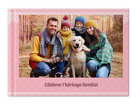 Livre photo de famille