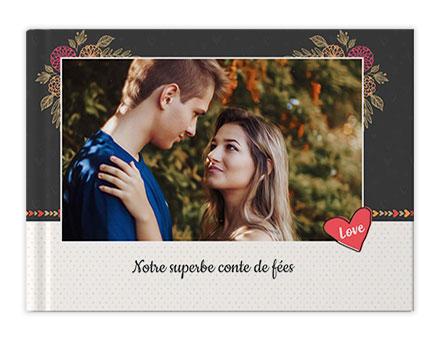 Livres photo histoire d'amour