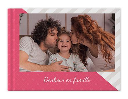 Famille heureuse Livres photo personnalisés